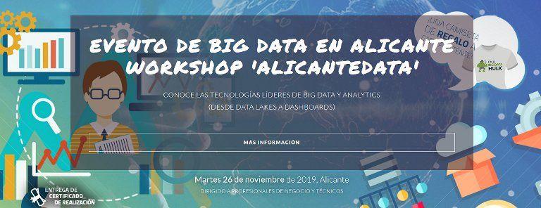 El martes 26 de Noviembre, no te pierdas AlicanteData