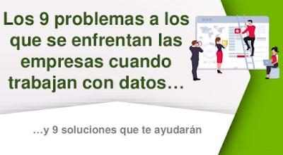 Los 9 problemas a los que se enfrentan las empresas que trabajan con datos