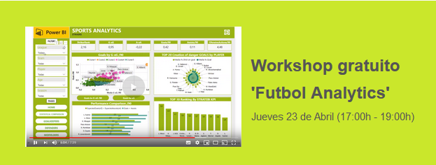 Workshop gratuito 'Futbol Analytics'