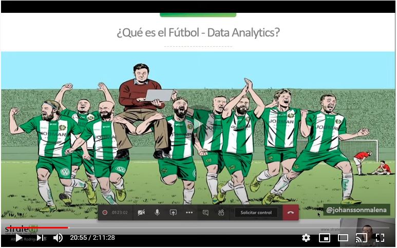 Workshop de Sports Analytics (Webinar disponible)