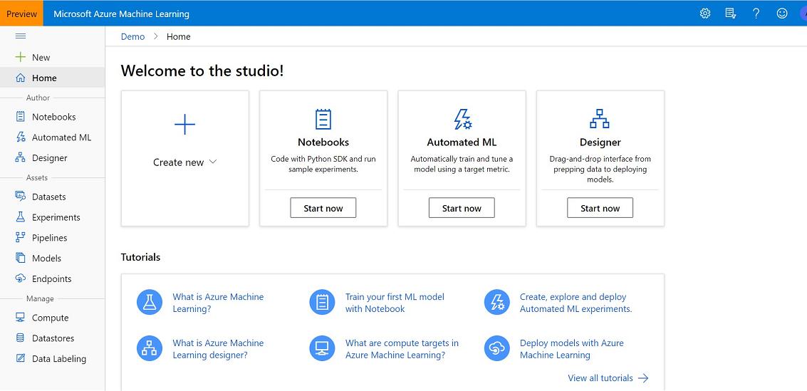 Guía de Introducción a Azure Machine Learning