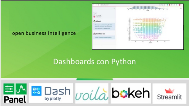 Alternativas para crear Dashboards con Python