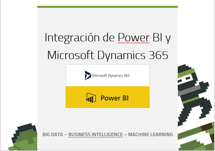 Como integrar Power BI con Microsoft Dynamics