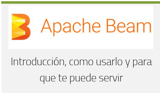 Apache Beam: Introducción