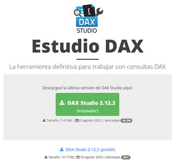 Aprende DAX Studio para PowerBI