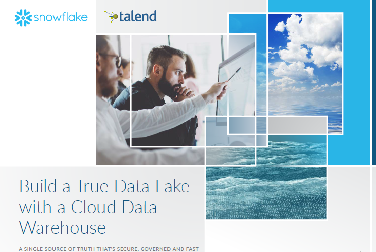 Como construir un Cloud Data Lake con Snowflake y Talend
