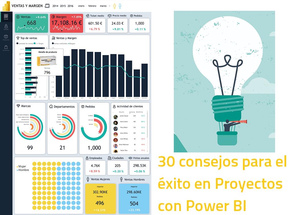 30 Consejos y Buenas Prácticas para hacer un proyecto de Power BI con éxito