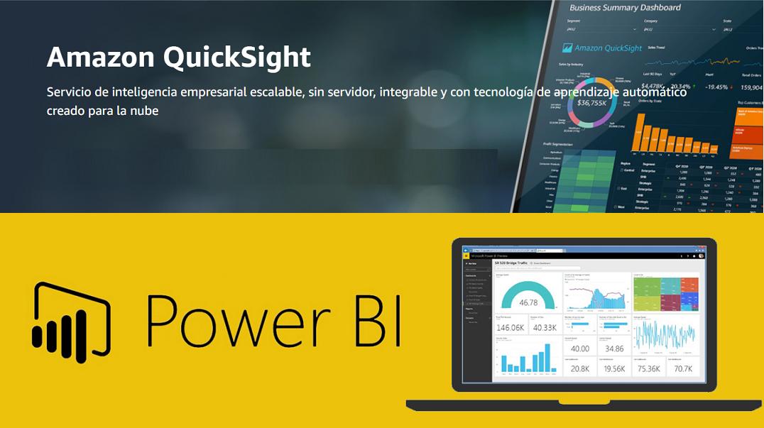 Comparativa PowerBI vs Amazon QuickSight