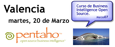 Workshop Pentaho en Valencia